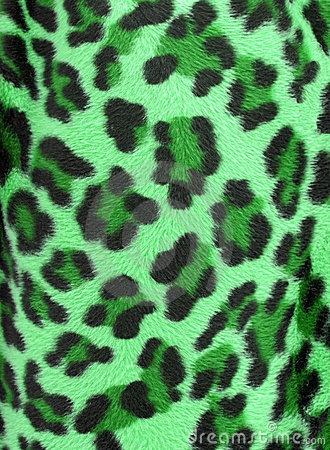 Free Green Leopard Faux Fur Background Royalty Free Stock Photography - 12691597