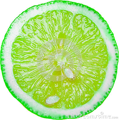 Green Lime Slice