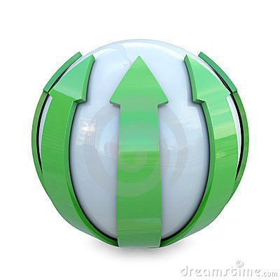 Green lines on sphere