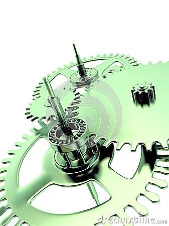 Green linked metal gears