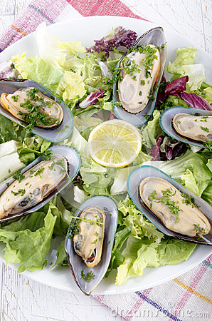 Green lipped mussels from new zealand