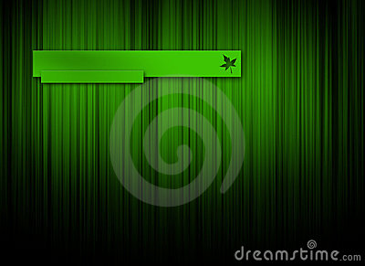 Green logo background