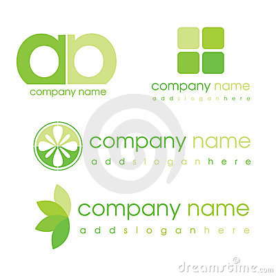 Free Green Logos Royalty Free Stock Photography - 11068167