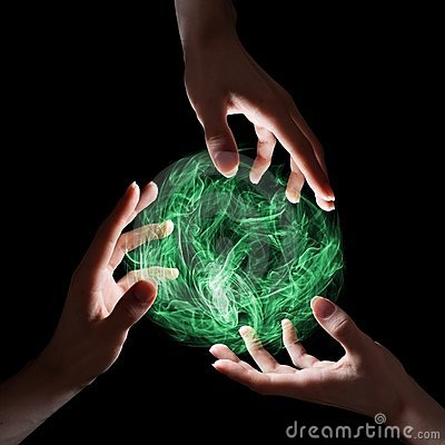 Free Green Magical Sphere Stock Photo - 18888850