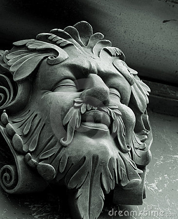 The Green Man Gargoyle