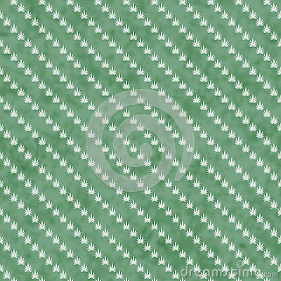 Green Marijuana Leaf And Stripes Pattern Repeat Background ...