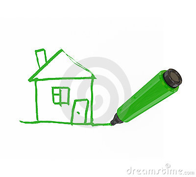 Free Green Marker Pen Royalty Free Stock Photography - 18499137