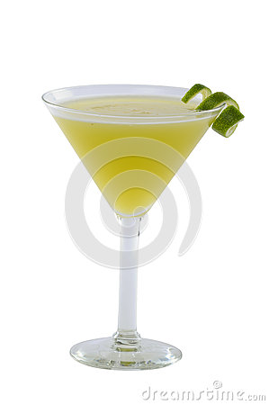 Free Green Martini Cocktail Royalty Free Stock Images - 36390919