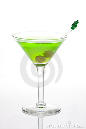 Green Martini for St Patrick s Day