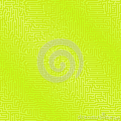 Green Maze Background