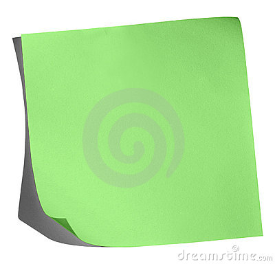 Green Memo