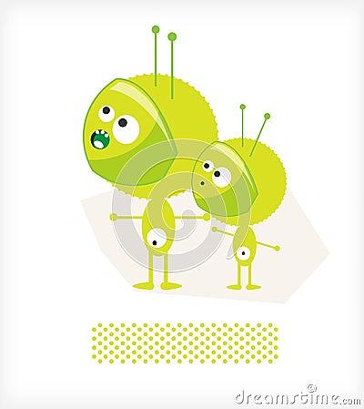 Green men UFO