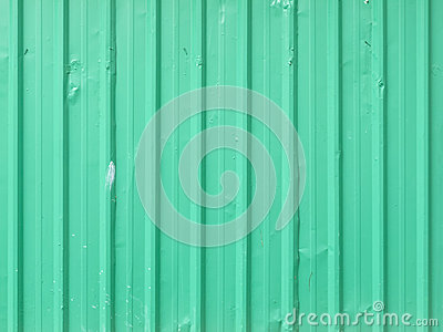 Green metal sheet background