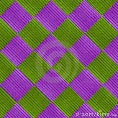 Green and metallic grunge grid abstract background