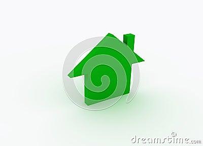 Green metaphor house