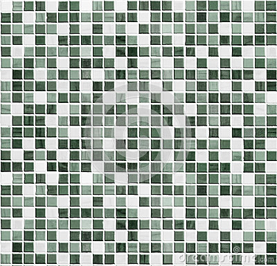Free Green Mosaic Bathroom, Kitchen Or Toilet Tile Wall Background Royalty Free Stock Images - 36873749