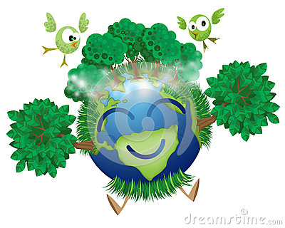 Green mother earth stock illustration image 45894854 - Mother earth clipart ...