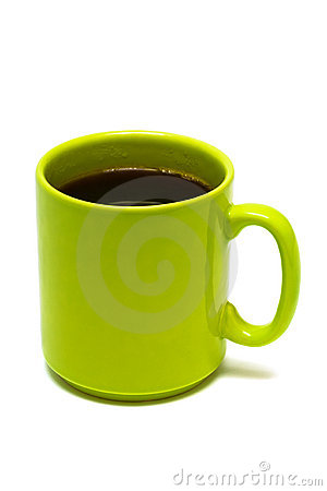 Free Green Mug From Coffee Stock Images - 7662054