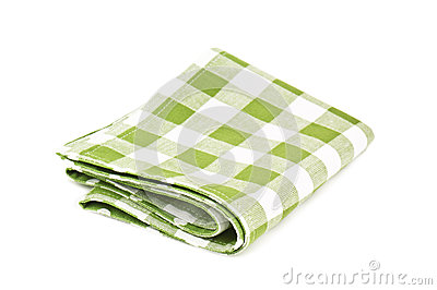 Green napkin