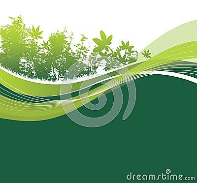 Free Green Natural Woodland Setting Royalty Free Stock Image - 9012096