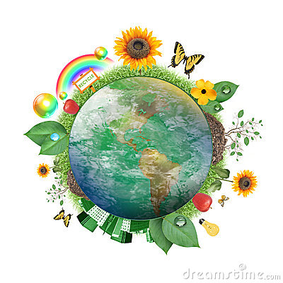 Green Nature Earth Icon