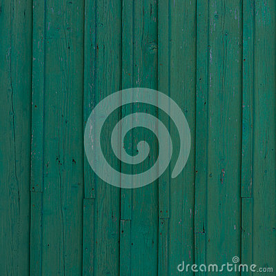 Green old wood background