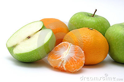 Green and Orange Fruits