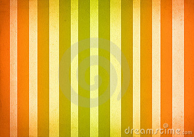 Green and Orange Ombre Stripes