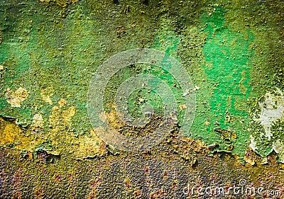 Green Paint Grunge
