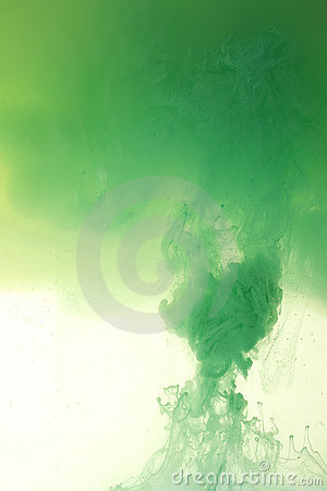 Green Paint Mix