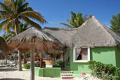 Green Palapa in Playa del Carmen - Mexico