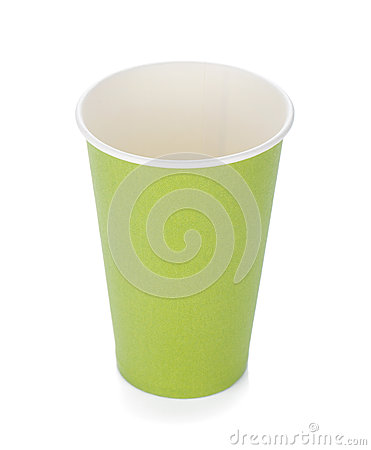 Free Green Paper Coffee Cup Stock Images - 25113534
