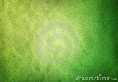 A Green Paper textured Grunge background