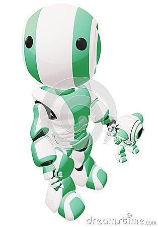 Green parent robot