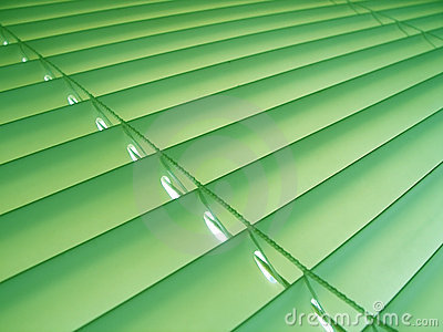 Green Pastel Blinds