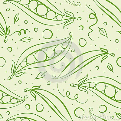 Green peas pattern