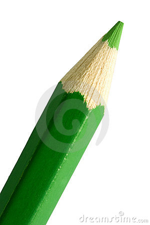 Free Green Pencil Tip Stock Photo - 282930