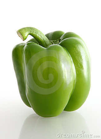 Free Green Pepper Stock Photography - 10837892