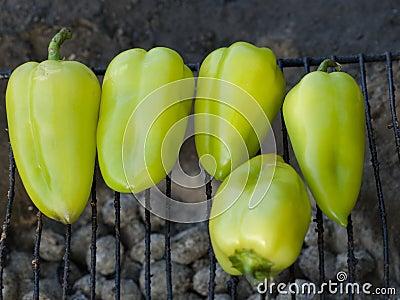 Green pepper BBQ
