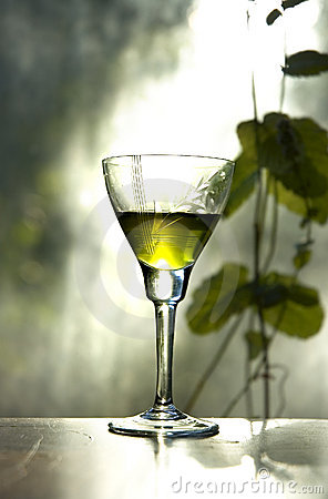 Green peppermint dram