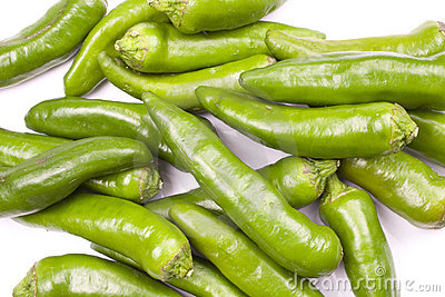 Green Peppers Hot