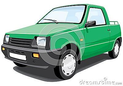 Green pickup