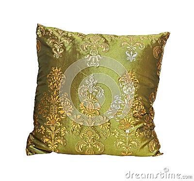 Green pillow