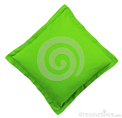 Free Green Pillow Stock Photography - 91805382