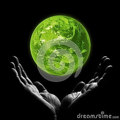 Free Green Planet Stock Photo - 52309970