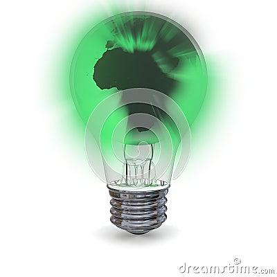 Green planet light