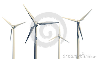 Green power source (wind turbines)