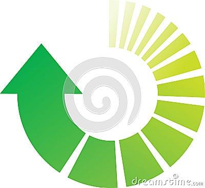 Green Process Arrows