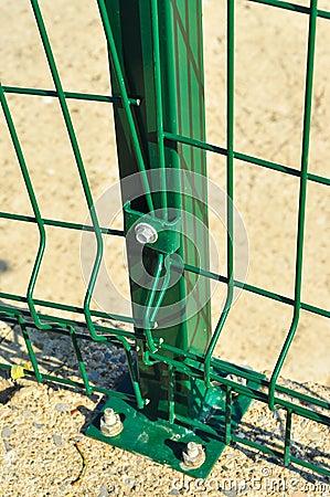 Green Railings Detail