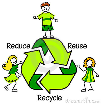 Free Green Recycle Kids/eps Stock Images - 19831524